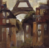 Paris Late Summer I Framed Print