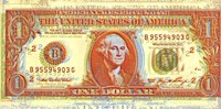 Dollar Bill Fine Art Print