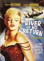 "River of No Return - style B, 1954, 1954 - 11"" x 17"""