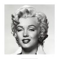 Monroe Portrait Framed Print