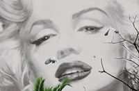 Marilyn a Cannes Wall Poster