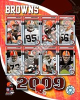 "2009 Cleveland Browns Team Composite, 2009 - 8"" x 10"""