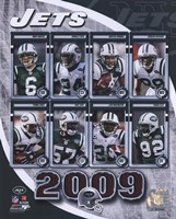 "2009 New York Jets Team Composite, 2009 - 8"" x 10"""