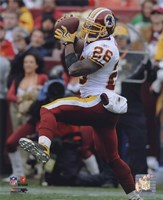 Clinton Portis 2009 Action Fine Art Print