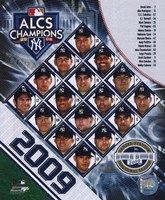"2009 New York Yankees ALCS Champions Composite, 2009 - 8"" x 10"""