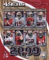 "2009 San Francisco 49ers Team Composite, 2009 - 8"" x 10"""