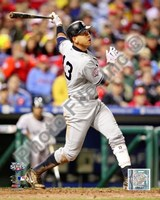 "Alex Rodriguez Game three of the 2009 MLB World Series 2 Run Home Run (#10) - 8"" x 10"""