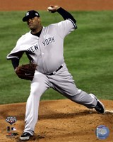 "C.C. Sabathia Game Four of the 2009 MLB World Series Action (#13) - 8"" x 10"", FulcrumGallery.com brand"