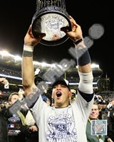 "Alex Rodriguez with the World Series Trophy Game Six of the 2009 MLB World Series (#36) - 8"" x 10"""