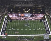 Cowboys Stadium Overhead View ( 2009) Fine Art Print