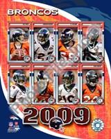"""2009 Denver Broncos Team Composite, 2009 - 8"""" x 10"""""""