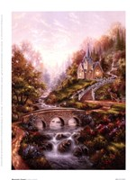 Mountain Chapel Fine Art Print