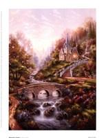 """Mountain Chapel by Klaus Strubel - 6"""" x 8"""""""