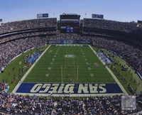 Qualcomm Stadium 2009 Fine Art Print