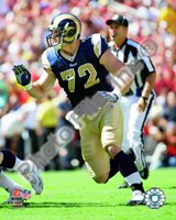Chris Long 2009 Action Fine Art Print