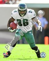 Brian Westbrook 2009 Action Fine Art Print