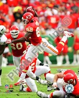 Dwayne Bowe 2009 Action Fine Art Print