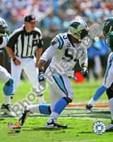 Julius Peppers 2009 Action Fine Art Print