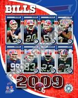 "2009 Buffalo Bills Team Composite, 2009 - 8"" x 10"""