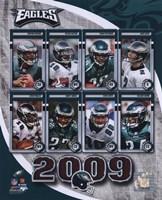 "2009 Philadelphia Eagles Team Composite, 2009 - 8"" x 10"""