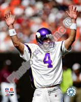Brett Favre 2009 Celebration Fine Art Print