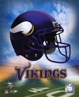 2009 Minnesota Vikings Team Logo Fine Art Print
