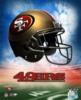 2009 San Francisco 49ers Team Logo Fine Art Print