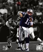 Tom Brady 2009 Spotlight Collection Fine Art Print