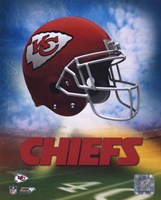 2009 Kansas City Chiefs Team Logo Fine Art Print