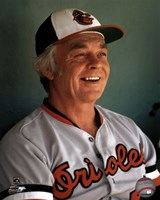 Earl Weaver Close up Fine Art Print