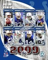 2009 Indianapolis Colts Team Composite Fine Art Print