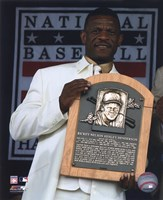 """Rickey Henderson 2009 Hall of Fame Induction Ceremony - 8"""" x 10"""", FulcrumGallery.com brand"""