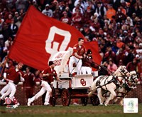 Sooner Schooner Mascot of the Oklahoma Sooners 2007 Fine Art Print