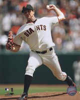 """Barry Zito 2009 Pitching Action - 8"""" x 10"""""""