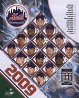 "2009 New York Mets Team Composite, 2009 - 8"" x 10"", FulcrumGallery.com brand"