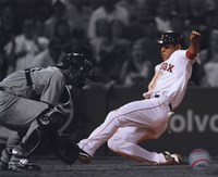 "Jacoby Ellsbury 2009 Spotlight Collection - 10"" x 8"", FulcrumGallery.com brand"