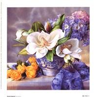 Moonlit Magnolia Fine Art Print