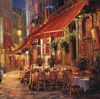 Cafe in Light Fine Art Print