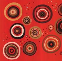 """Chocolate & Cherries I by Diana Martin - 16"""" x 16"""""""
