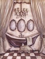 """Charming Bath I by Kate McRostie - 6"""" x 8"""""""