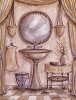 Charming Bath IV Framed Print