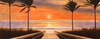 """10"""" x 4"""" Beach Ocean"""
