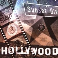 """Sunset Blvd by Keith Mallett - 12"""" x 12"""""""