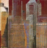 Urban Blocks I Fine Art Print