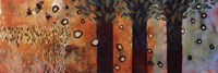 "Charmed Days by Valerie Willson - 36"" x 12"""