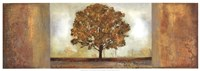"Elusive Treescape I by Allison Pearce - 37"" x 13"""