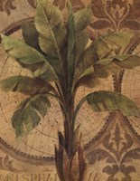 Decorative Palm I Framed Print
