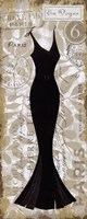 """Robe Noir I by Mo Mullan - 8"""" x 20"""""""
