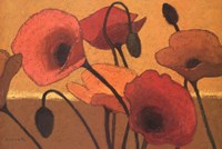"Poppy Curry III by Shirley Novak - 36"" x 24"""