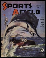Sports Afield - January, 1941 Fine Art Print